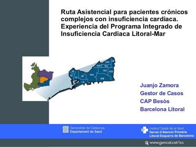 Ruta Asistencial para pacientes crónicoscomplejos con insuficiencia cardiaca.Experiencia del Programa Integrado deInsufici...