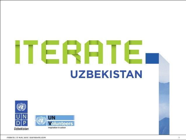 UZBEKISTANITERATE   17 MAY, 2013   GOITERATE.COM 1
