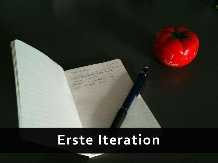 Erste Iteration<br />