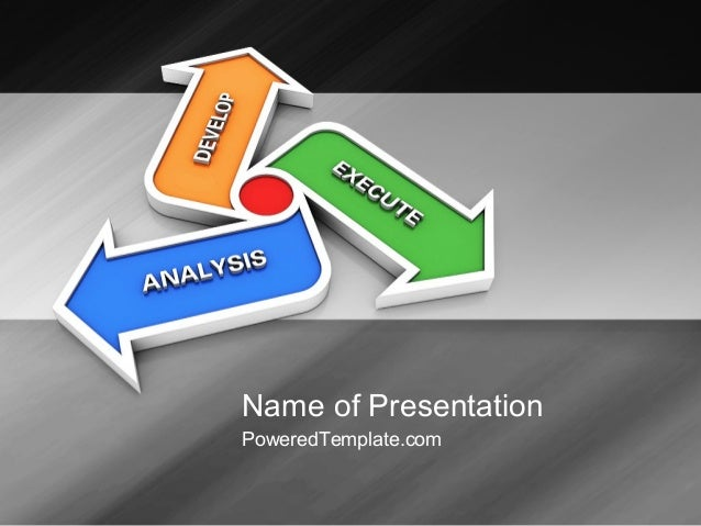 iteration powerpoint template by poweredtemplatecom