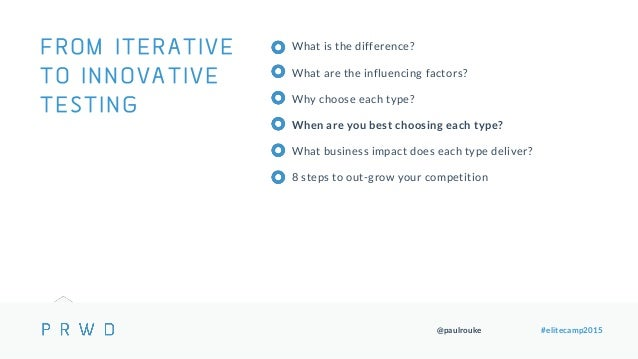 @paulrouke #elitecamp2015 What is the difference? What are the influencing factors? Why choose each type? When are you bes...