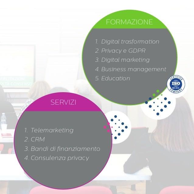 ITER: alta formazione professionale e progetti speciali per le Aziende Slide 3