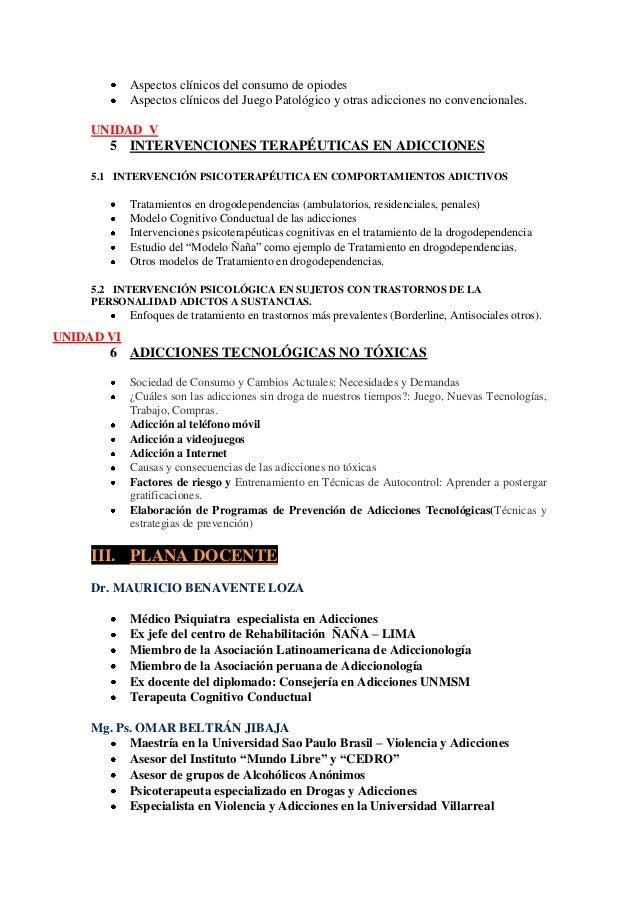 Intervencion terapéutica en adicciones 2013 Slide 3
