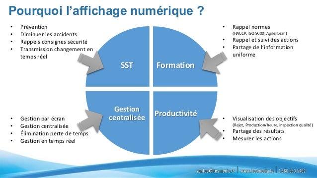 Ites  présentation affichage corporatif Slide 2