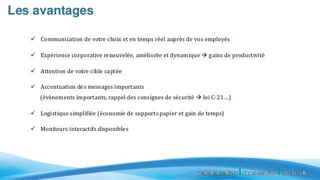 Ites  présentation affichage corporatif Slide 3