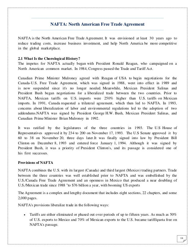International trade 15 nafta a trilateral trade agreement among usa canada mexico 16 platinumwayz