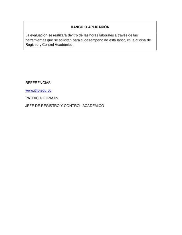 Itfip institucion de educacion superior for Importancia de la oficina dentro de la empresa wikipedia