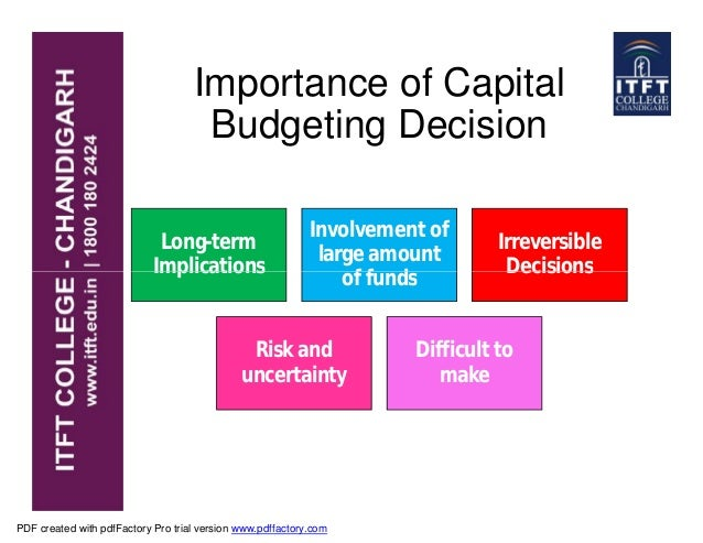 OFN Capital Budgeting Under Uncertainty and Risk