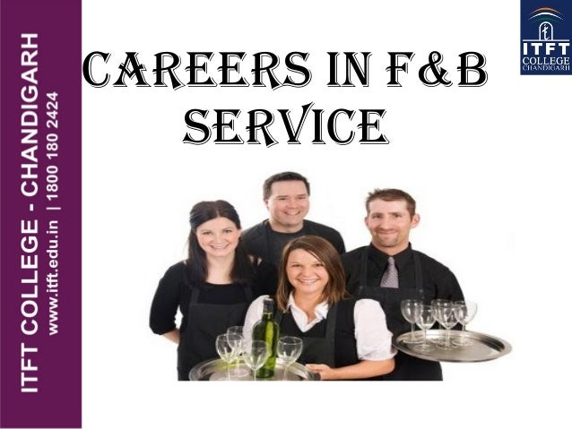 CAREERS IN F&B SERVICE