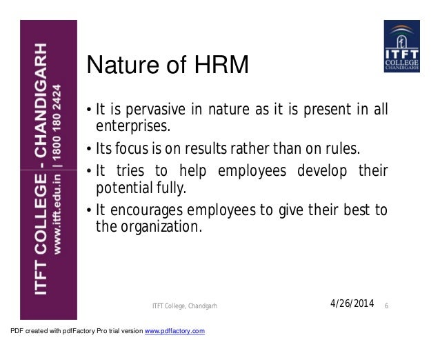 Hr Management Pdf