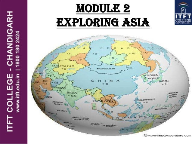 Module 2 Exploring Asia