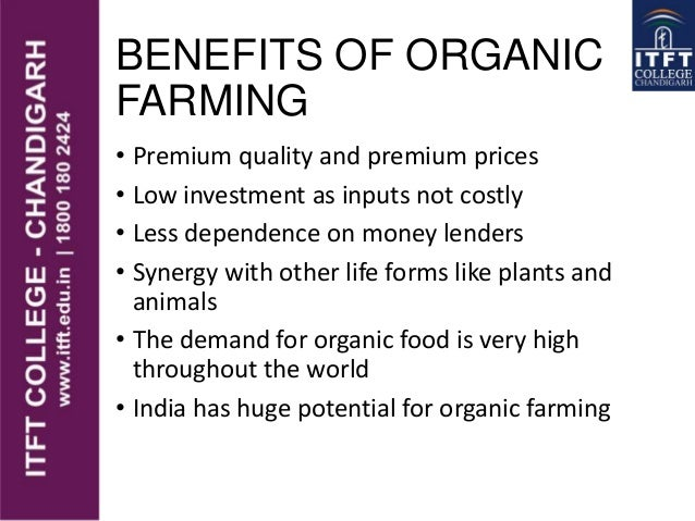 benefits of organic farming News news featured outlines the health benefits of eating organic food and practicing organic agriculture.
