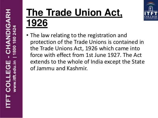 THE TRADE UNIONS ACT 1926 EPUB DOWNLOAD