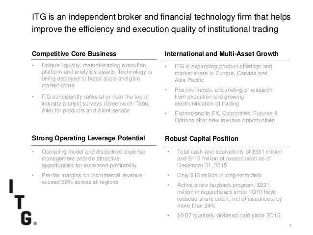 Itg investor presentation_21march16 Slide 2