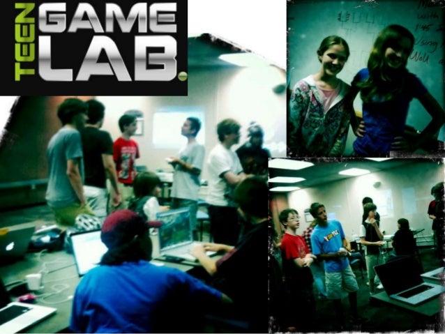 Teen GameLab Uses Quest-based Learning in 3D GameLab  7/6/13  http://bit.ly/193kzyT  5