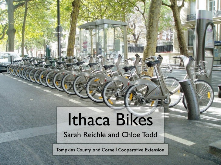 Ithaca Bikes   Sarah Reichle and Chloe ToddTompkins County and Cornell Cooperative Extension
