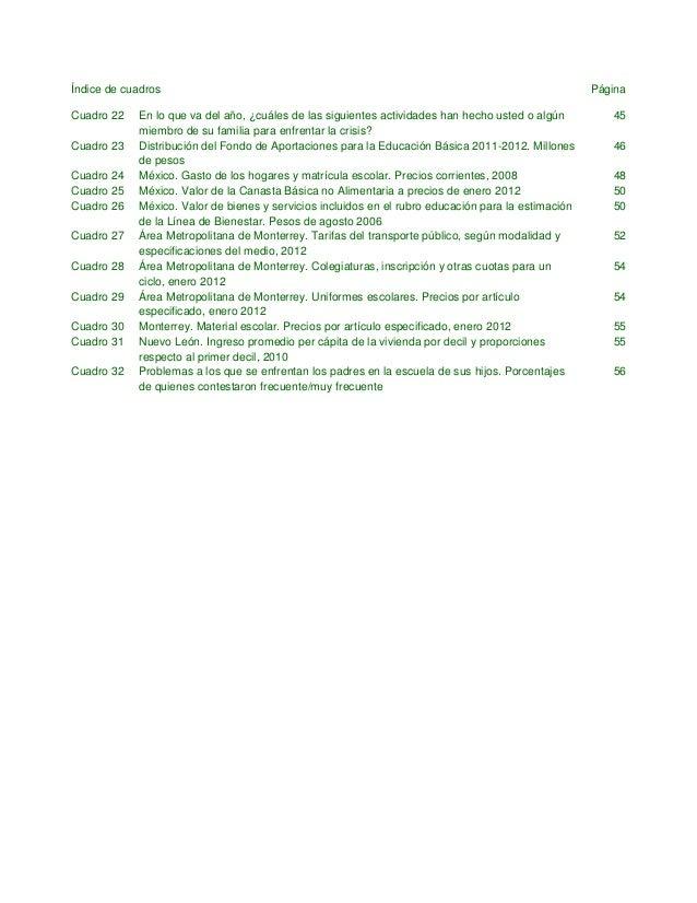 Índice de gráficas Página Gráfica 1 Tasa bruta de matriculación en la enseñanza primaria (6 a 11 años de edad) 11 Gráfica ...