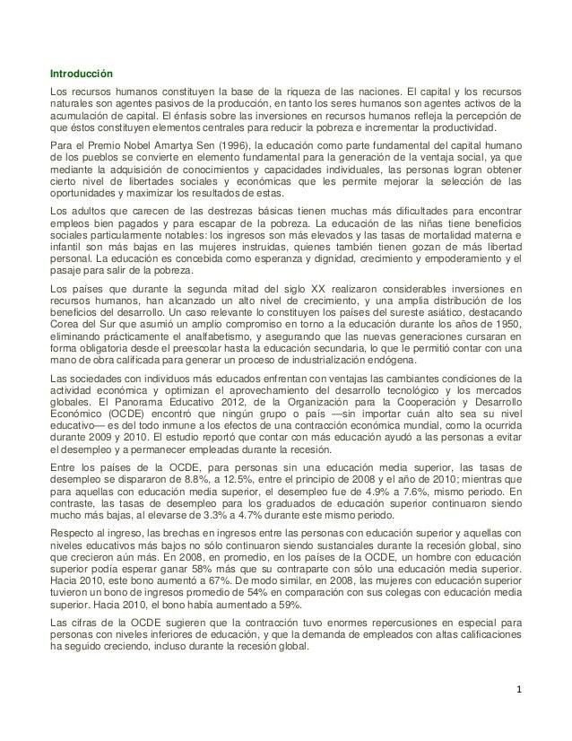 2 En este Panorama Educativo de 2012, se señala que México no pudo salir de la zaga en la mayoría de los indicadores que p...