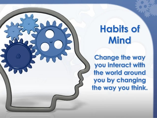 """Have you ever consideredthat you may have bad""""thinking habits""""?The way we think can affecthow we learn.2"""