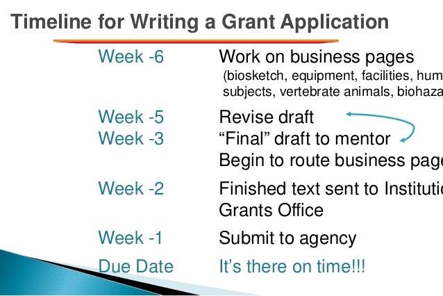 writing an nih grant
