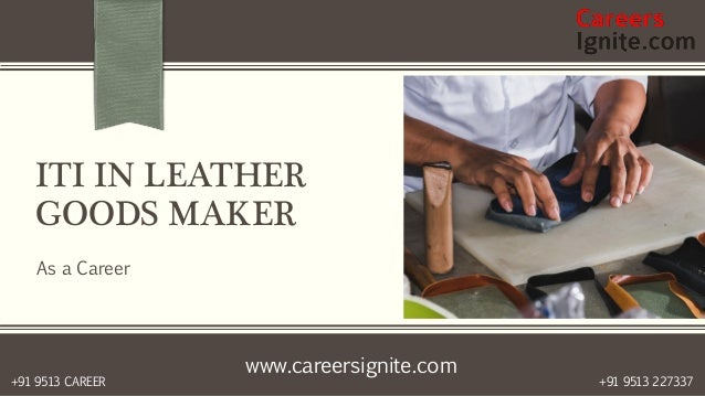 iti in leather goods maker courses colleges eligibility