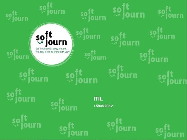 ITIL15/08/2012