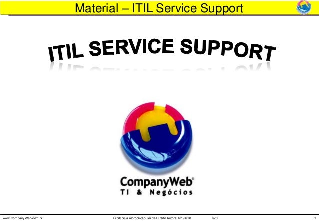 ITIL - Service Support