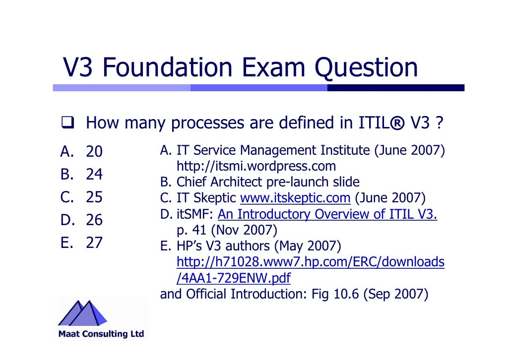 The exam study pdf foundation guide v3 itil