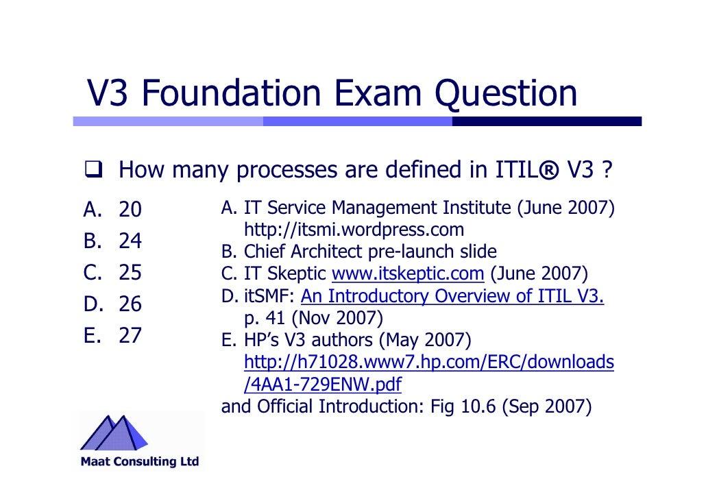 The exam study pdf foundation guide v3 itil