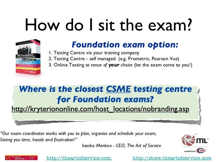 itil foundation 2011 exam questions pdf