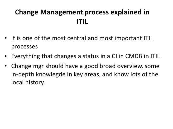 Itil V3 Foundation Overview