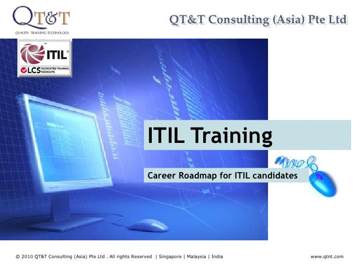 QT&T Consulting (Asia) Pte Ltd<br />ITIL Training<br />Career Roadmap for ITIL candidates<br />www.qtnt.com<br />© 2010 QT...
