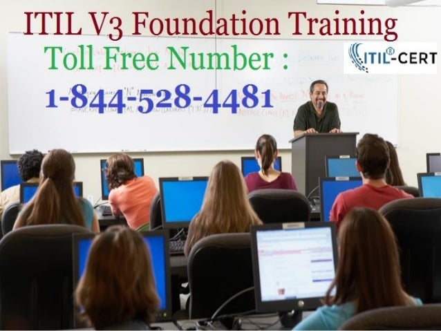 ITIL Certification Training USA Toll Free Number : 1-844-528-4481