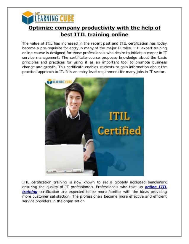 Itil Expert Training And Certification Online