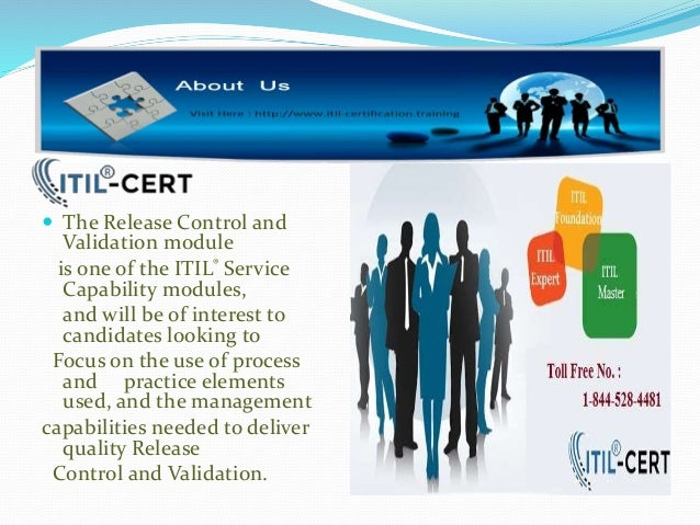 itil foundation training certification