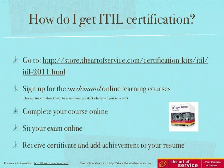 Will Itil Certification Improve My Job Prospects