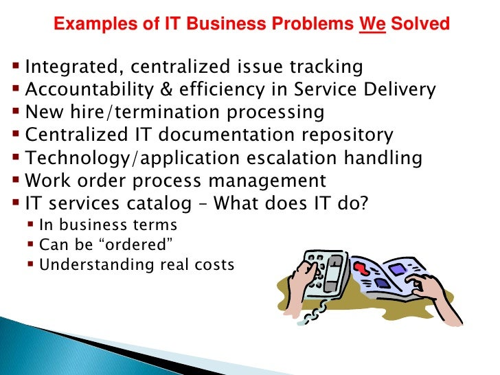 Itil service desk business case quality service 9 examples of it business wajeb Choice Image