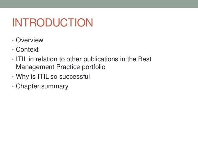 service transition best management practice