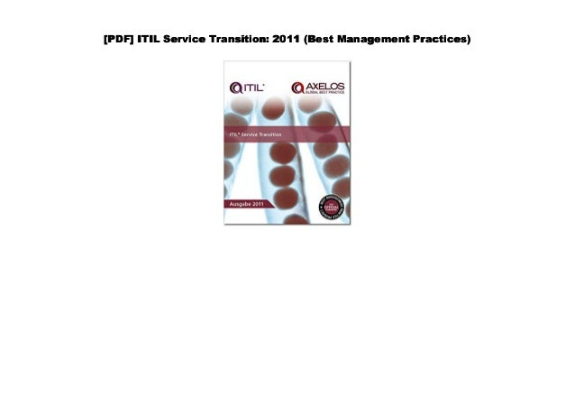 Itil Service Operation 2011 Edition Pdf