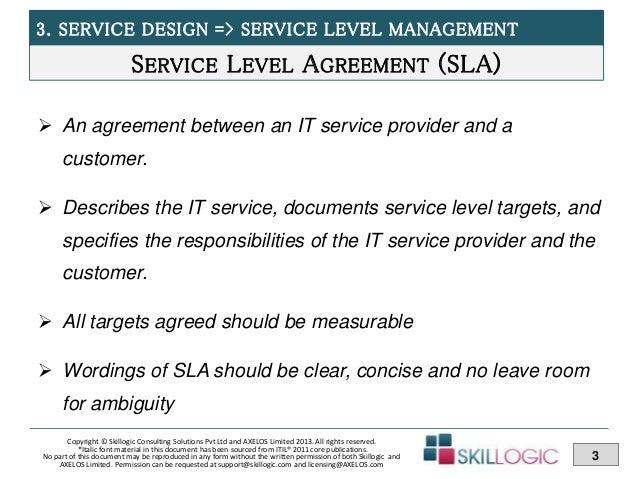Itil Training Module Service Design Part 3