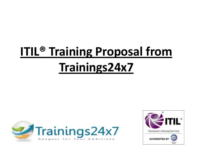 ITIL® Training Proposal from Trainings24x7