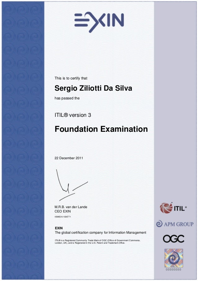 how to write itil foundation exam