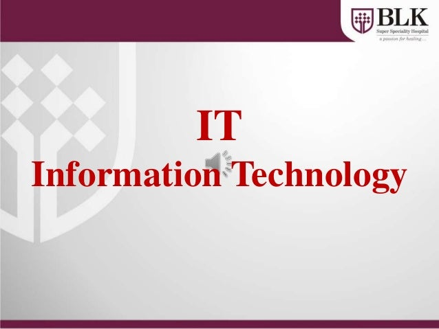 ITInformation Technology