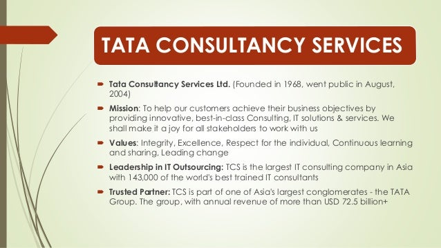analysis of the tata consultancy service Analysis upgrade to professional membership quarterly revenue, net income and adjusted share price  tata consultancy services ltd 2018 annual reportpdf tata consultancy services ltd 2017 annual reportpdf tata consultancy services ltd 2016 annual reportpdf tata consultancy services ltd 2015 annual reportpdf tata consultancy services.