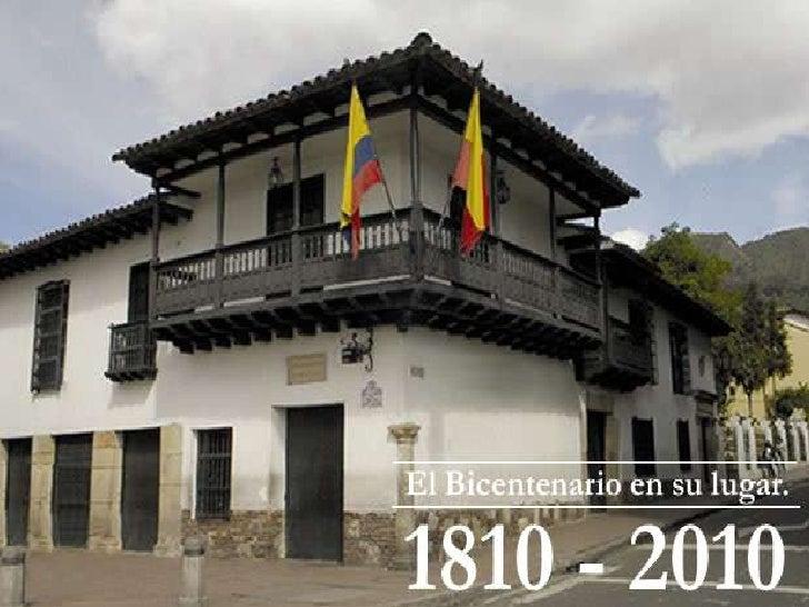 Universidad de San Buenaventura                           Imágenes del Bicentenario    Batalla de Pichincha