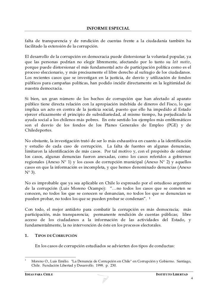 Itinerario de la corrupción en Chile (1990 - 2007)