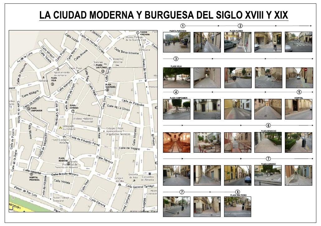 Itinerario la ciudad moderna y burguesa almeria