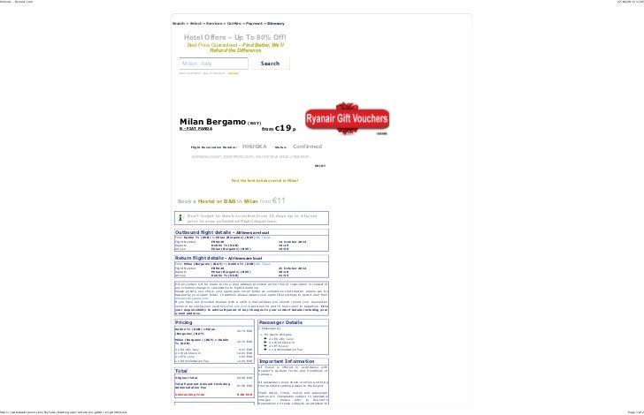 Itinerary - Ryanair.com                                                                                                   ...
