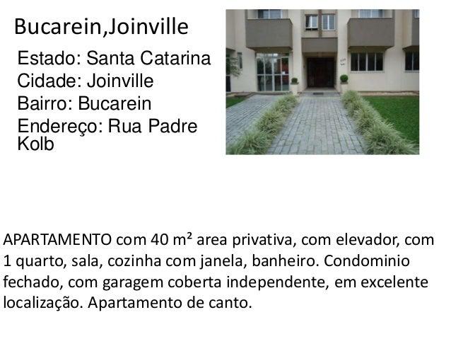 Bucarein,Joinville Estado: Santa Catarina Cidade: Joinville Bairro: Bucarein Endereço: Rua Padre Kolb APARTAMENTO com 40 m...