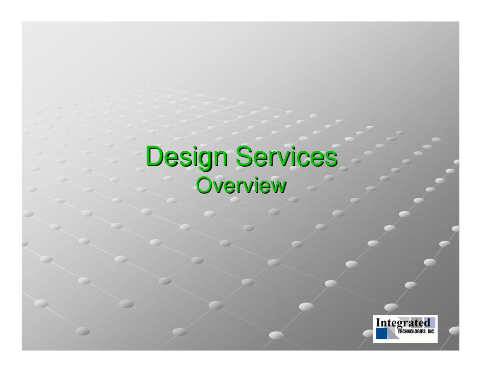 Iti Services Introduction - 웹